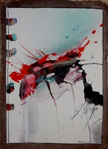 maria kammerer, Dynamik 2, Abstract art, Modern Age