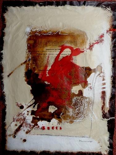 maria kammerer, Menü des Tages 4, Abstract art, Modern Age