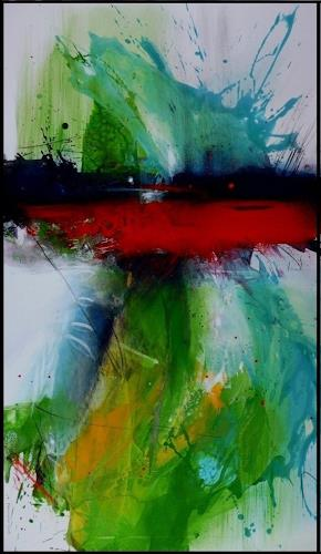 maria kammerer, Explusion, Abstract art, Abstract Art