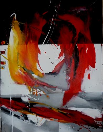 maria kammerer, Feuer der Liebe, Abstract art, Modern Age