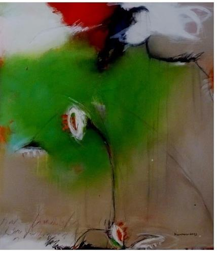 maria kammerer, Lass uns wachsen 3, Abstract art, Abstract Art, Expressionism