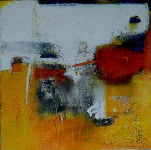 maria kammerer, Spaziergang!, Abstract art, Abstract Art