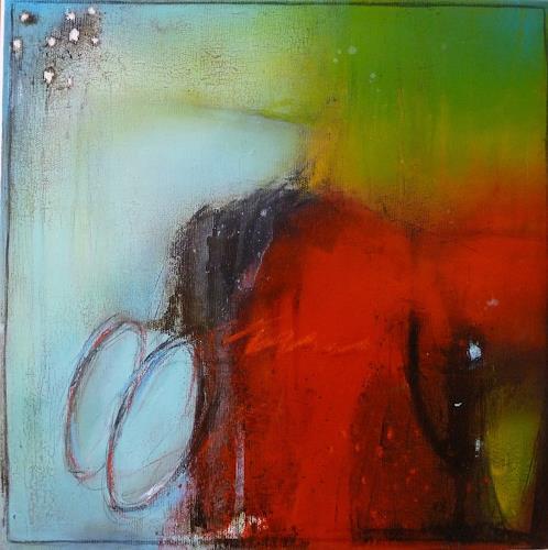 maria kammerer, Sehe täglich das Schöne in Deiner Zweisamkeit!, Abstract art, Abstract Art