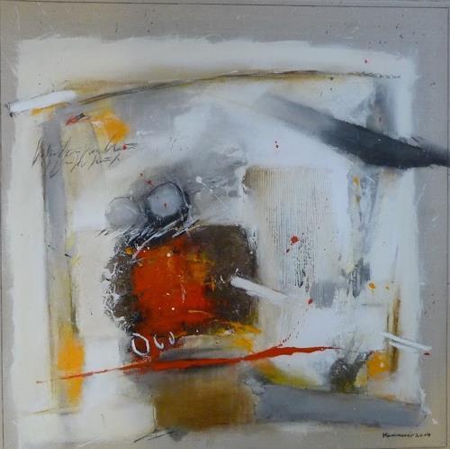 maria kammerer, Leichtigkeit im Sein!, Abstract art, Abstract Art