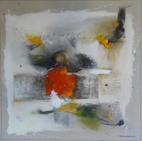 maria kammerer, Leichtigkeit im Sein 2, Abstract art, Abstract Art