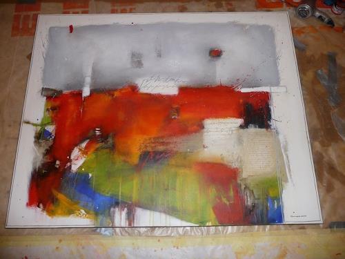maria kammerer, Die Hoffnung ist der Anfang!, Abstract art, Abstract art, Abstract Art