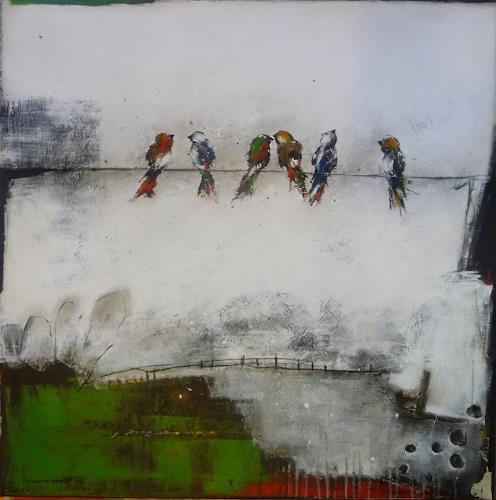 maria kammerer, Der Frohsinn 4, Animals, Concrete Art, Expressionism