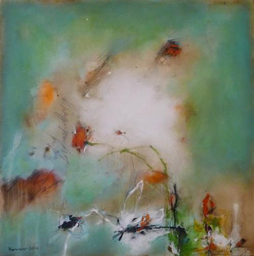 maria kammerer, Verträumt!, Romantic motifs, Abstract Art, Expressionism