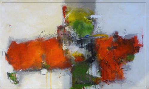 maria kammerer,  Schau, wie schön!, People, Abstract Art, Expressionism