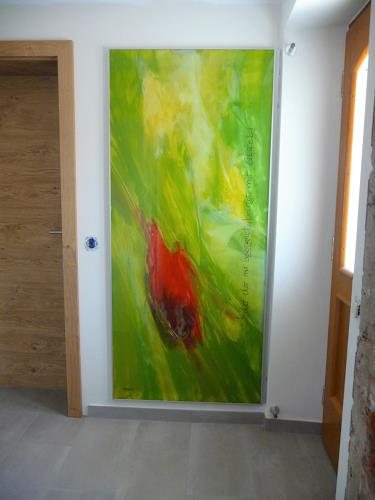 maria kammerer, Glasbild, Abstract art, Abstract Art