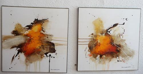 maria kammerer, Auftragsarbeit, Abstract art, Abstract Art