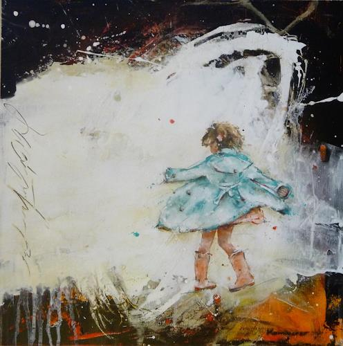 maria kammerer, Serie Sorgenfrei!, People: Children, Abstract Art, Expressionism