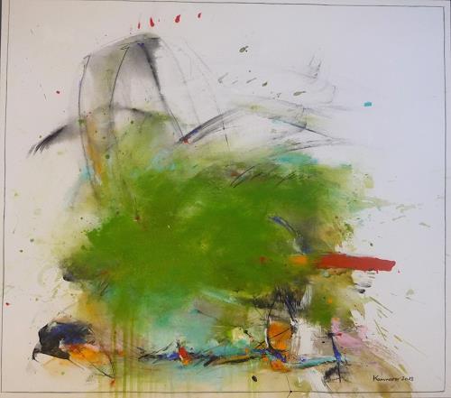 maria kammerer, Gedanken sind Kräfte!, Abstract art, Abstract Art, Expressionism
