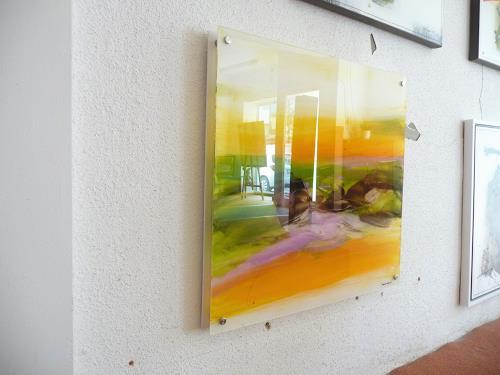 maria kammerer, Acryl auf Plexiglas, Abstract art, Abstract Art