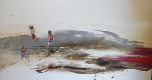 "maria kammerer, Serie ""Sorgenfrei!, People: Children, Abstract Art, Expressionism"