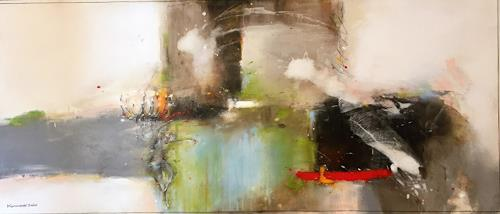 maria kammerer, Lichtblick!, People: Women, Abstract Art, Abstract Expressionism