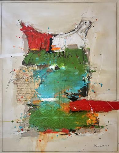 maria kammerer, Lebenskleid 2!, Abstract art, Abstract Art