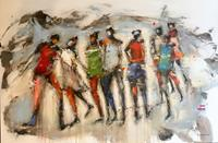 maria-kammerer-People-Group-Modern-Age-Abstract-Art-Action-Painting