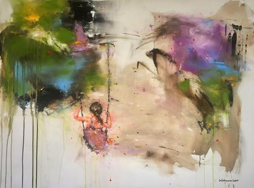 maria kammerer, Serie, People: Children, Abstract Art, Expressionism