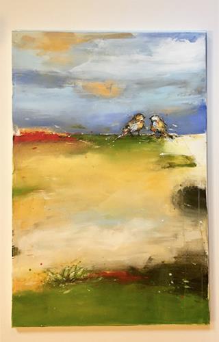 maria kammerer, Auftragsarbeit, Animals: Air, Abstract Art
