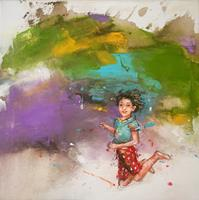 maria-kammerer-People-Children-Modern-Age-Abstract-Art-Action-Painting