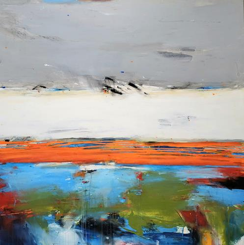 maria kammerer, Sommer!, Abstract art, Abstract Art, Expressionism
