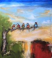 maria-kammerer-Animals-Air-Miscellaneous-Landscapes-Modern-Age-Abstract-Art-Action-Painting