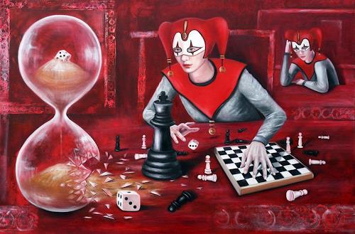 Ela Nowak, Das Spiel mit der Zeit, Game, Fantasy, Post-Surrealism