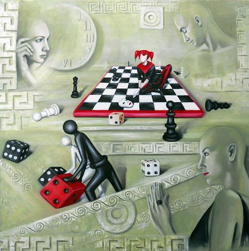 Ela Nowak, Der Spieler hinter der Maske-2, Miscellaneous Emotions, Game, Post-Surrealism