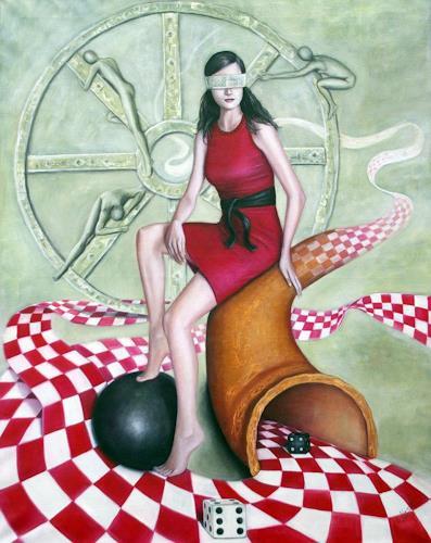 Ela Nowak, Fortuna, People: Women, Fantasy, Post-Surrealism