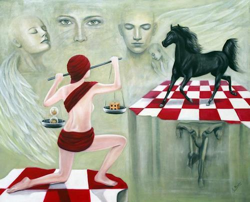 Ela Nowak, Das Schicksal des Lebens, People: Group, Miscellaneous Emotions, Surrealism