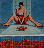 Rajesh-Rana-People-Women-Erotic-motifs-Female-nudes-Modern-Age-Naturalism
