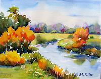 Meltem-Kilic-Landscapes-Autumn-Landscapes-Autumn-Contemporary-Art-Contemporary-Art