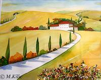 Meltem-Kilic-Landscapes-Summer-Nature-Miscellaneous-Contemporary-Art-Contemporary-Art