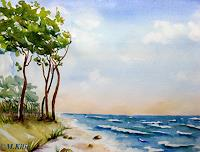 Meltem-Kilic-Landscapes-Beaches-Nature-Water-Contemporary-Art-Contemporary-Art