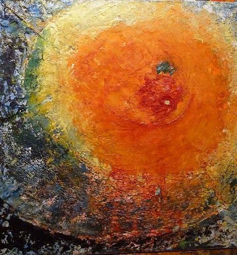 Jutta Regina Frederiks, Energiequell, Abstract art, Abstract Art, Expressionism