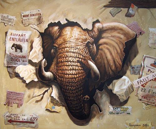 Sascha Lunyakov, Wanted, Animals: Land, Humor