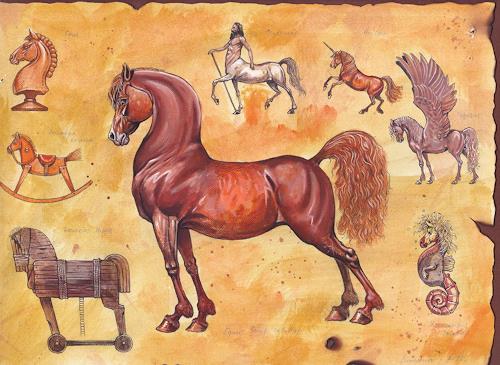 Sascha Lunyakov, Horse History, Animals: Land, Decorative Art