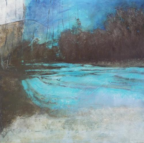 Sabine Lovermann, o.T., Abstract art, Landscapes, Contemporary Art, Abstract Expressionism