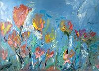 Ruth-Roth-Plants-Plants-Flowers-Modern-Age-Expressionism