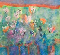 Ruth-Roth-Plants-Flowers-Abstract-art-Contemporary-Art-Contemporary-Art