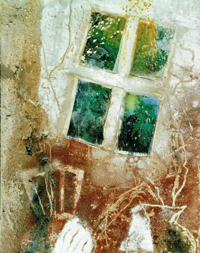 Reimund O. Boderke, Das Glitzern, Miscellaneous, Poetry, Contemporary Art, Abstract Expressionism