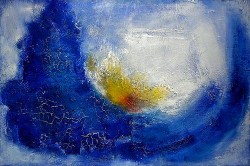 Edelgard Sprengel, Carpe diem, Abstract art, Miscellaneous Emotions, Expressionism