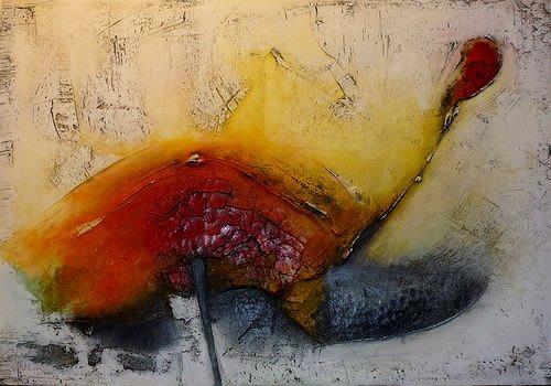 Edelgard Sprengel, Genau mein Tag / Reihe: Bewegtes Leben, Abstract art, Emotions: Joy, Non-Objectivism [Informel], Expressionism