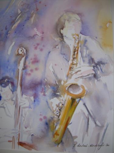 Jolanda Lachat, Jazznight, Music: Concerts, Contemporary Art, Expressionism