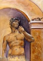 Marika-Korzen-Erotic-motifs-Male-nudes-People-Men-Modern-Age-Concrete-Art