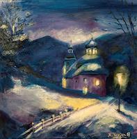 Marika-Korzen-Landscapes-Mountains-Landscapes-Winter-Modern-Age-Concrete-Art