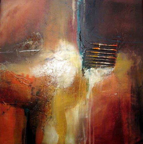 Silvia Sailer, Brownie, Abstract art, Emotions: Safety, Modern Age