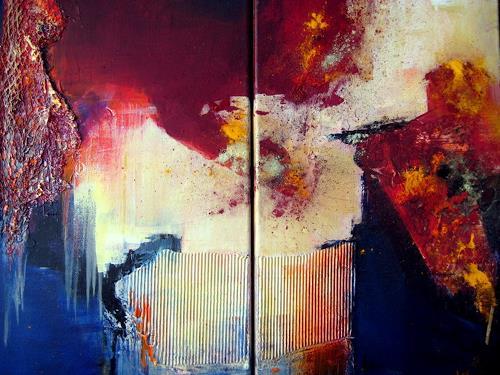 Silvia Sailer, Atlantis, Abstract art