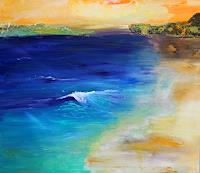 Silvia-Sailer-Landscapes-Sea-Ocean-Landscapes-Beaches-Contemporary-Art-Contemporary-Art